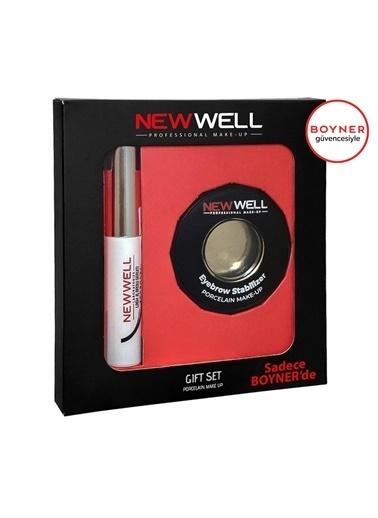 New Well New Well 2'li Set (Kaş Kirpik Serumu Kaş Kirpik Sabitleyici) Renksiz